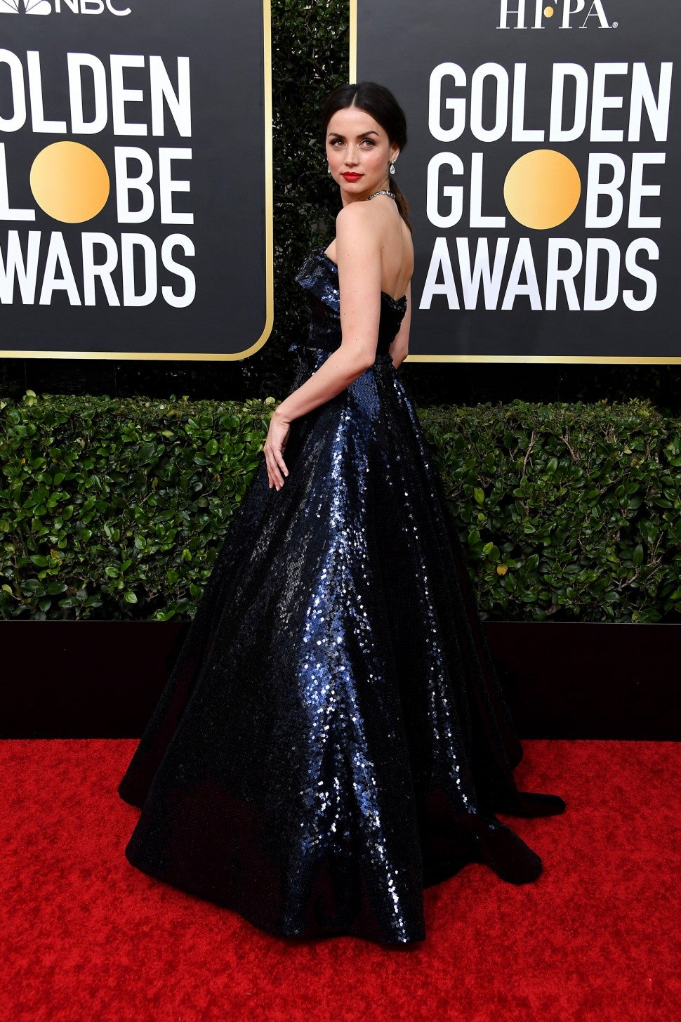 Ana de Armas at the 77th Annual Golden Globe Awards