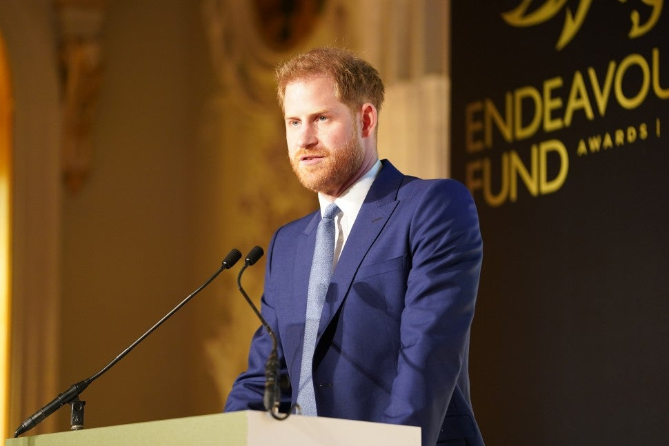 Prince Harry Endeavour Fund Awards