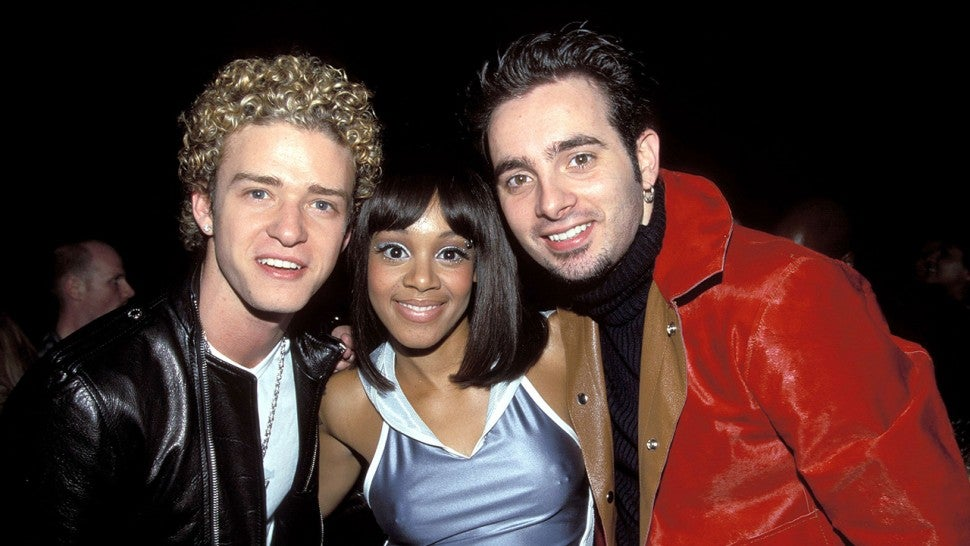 NSYNC and Left EYe