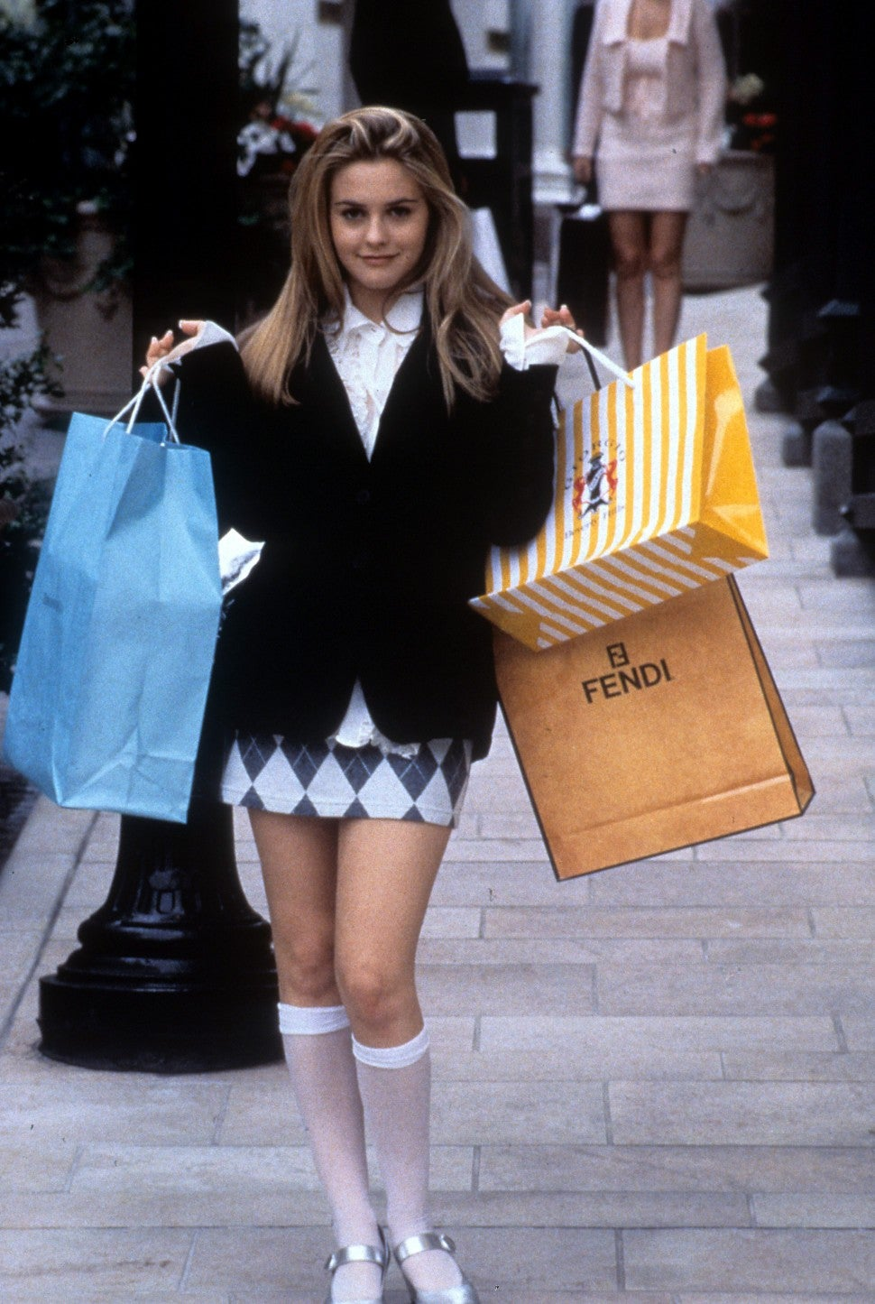 Clueless Cher Horowitz shopping outfit