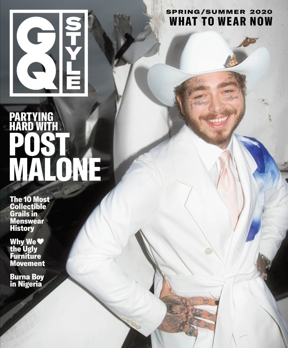 Post Malone, GQ Style cover
