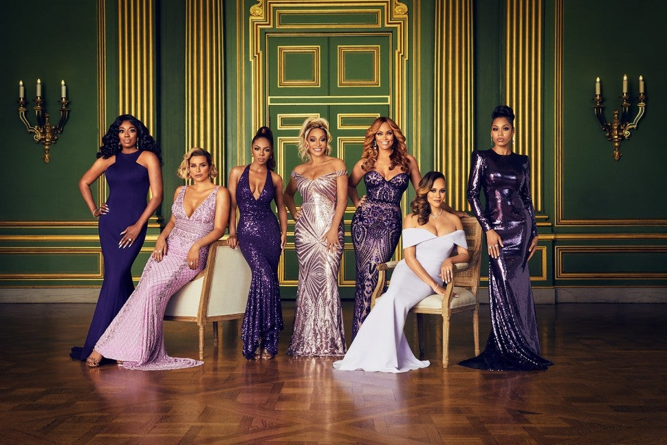 The cast of Bravo's 'The Real Housewives of Potomac.'