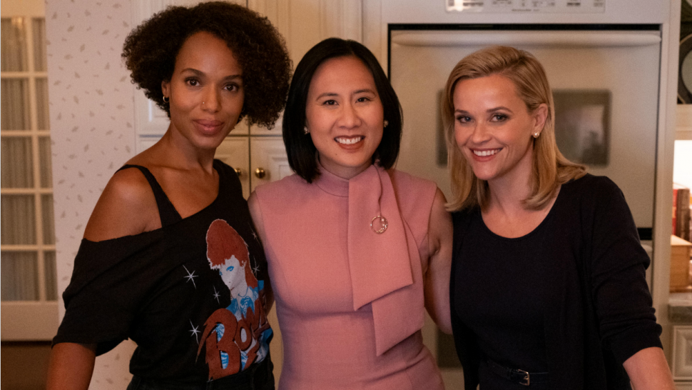 Kerry Washington, Celeste Ng and Reese Witherspoon