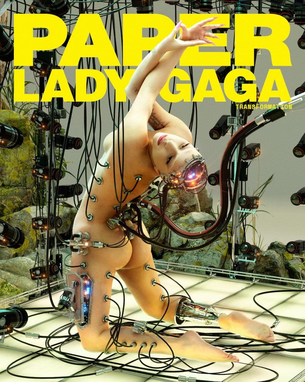 Lady Gaga for Paper magazine