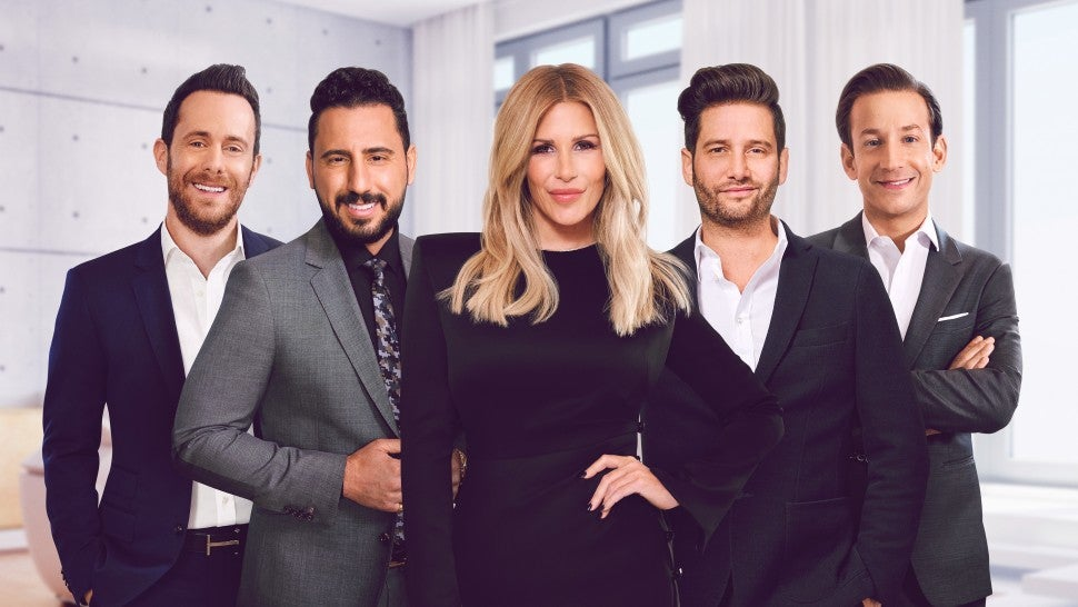 The cast of Bravo's 'Million Dollar Listing Los Angeles.'
