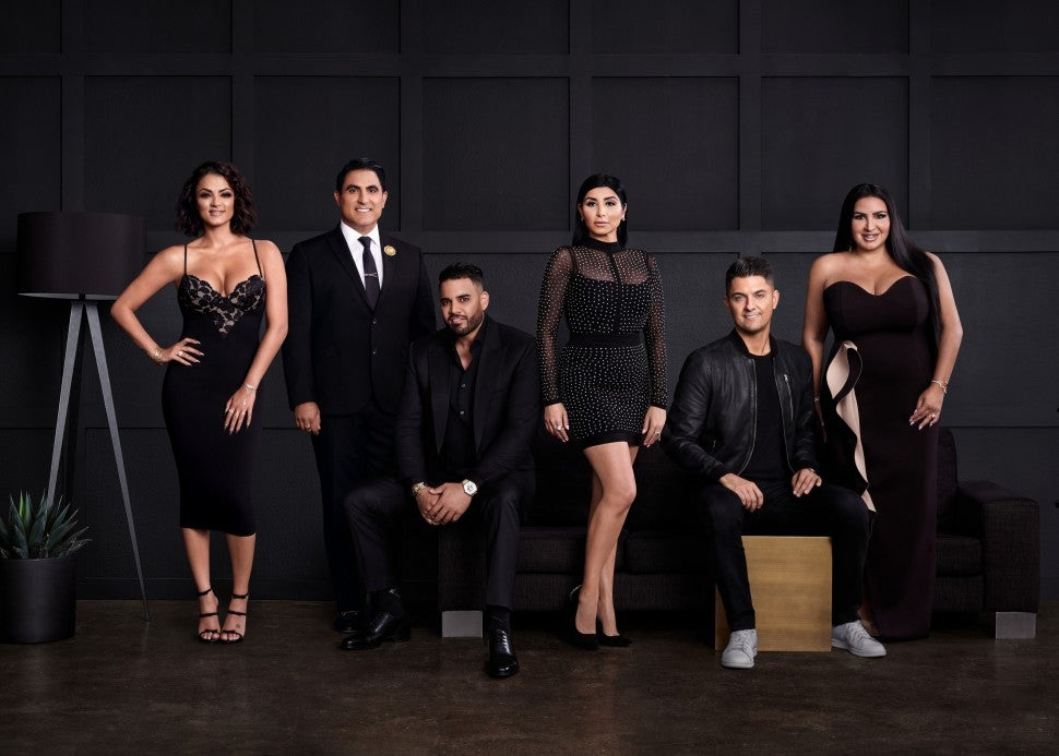The season eight cast of Bravo's 'Shahs of Sunset.'