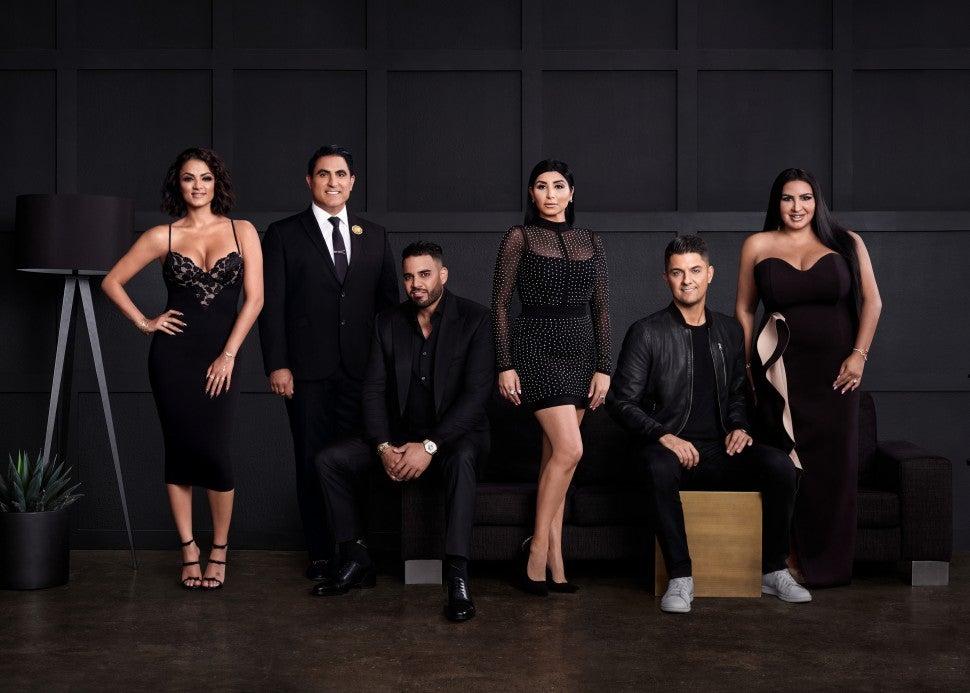 The season eight cast of Bravo's 'Shahs of Sunset.'