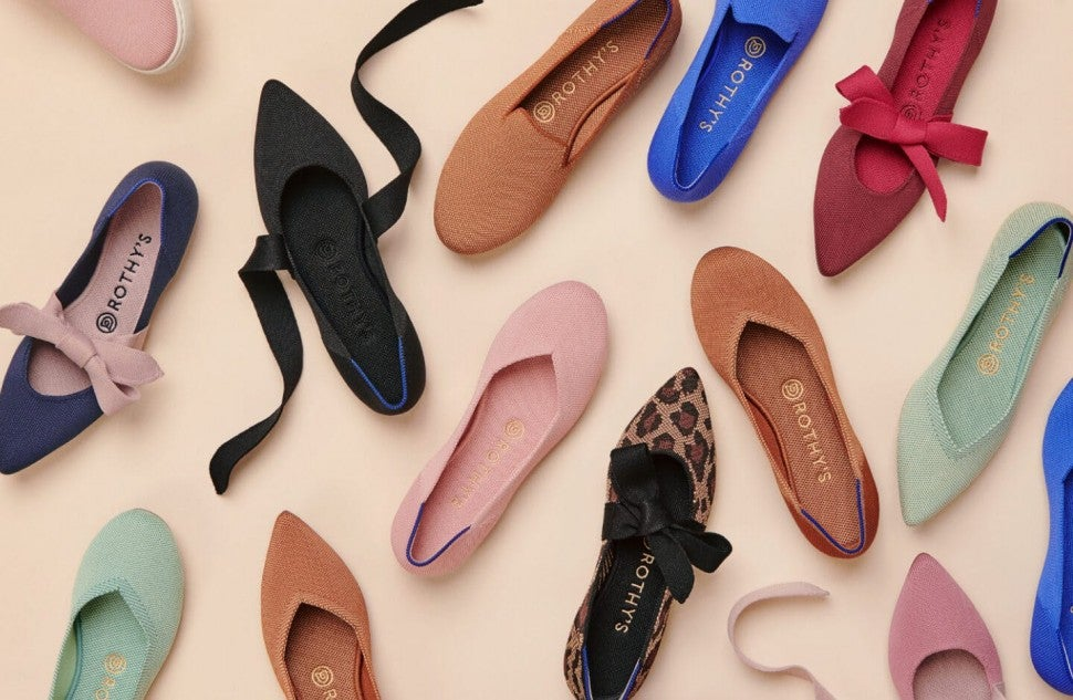 Rothy's Sustainable Flat Shoe Collection