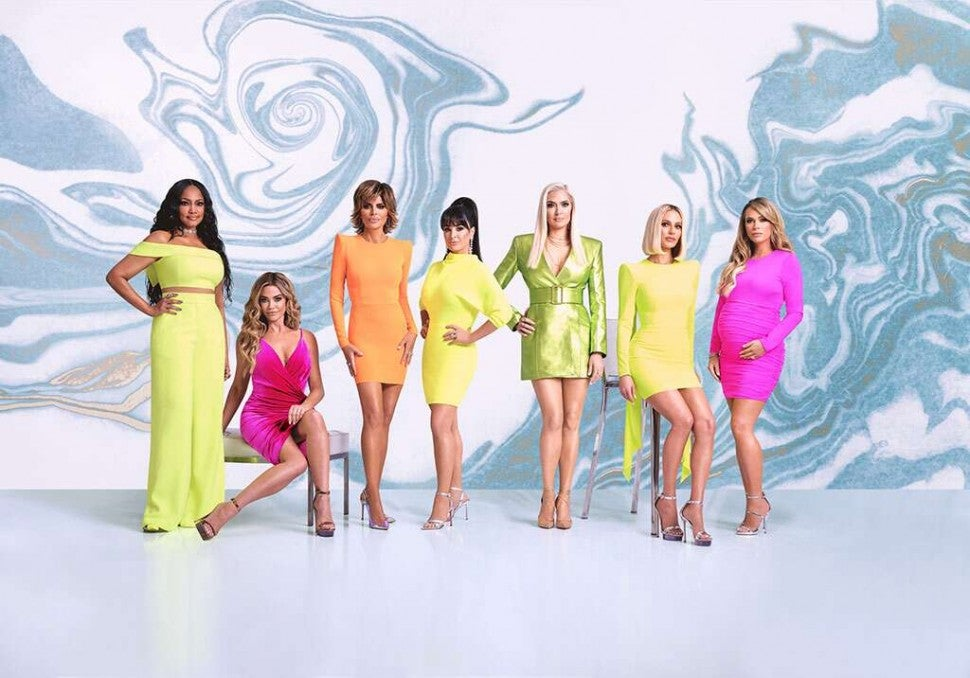 The season 10 cast of Bravo's 'The Real Housewives of Beverly Hills.'