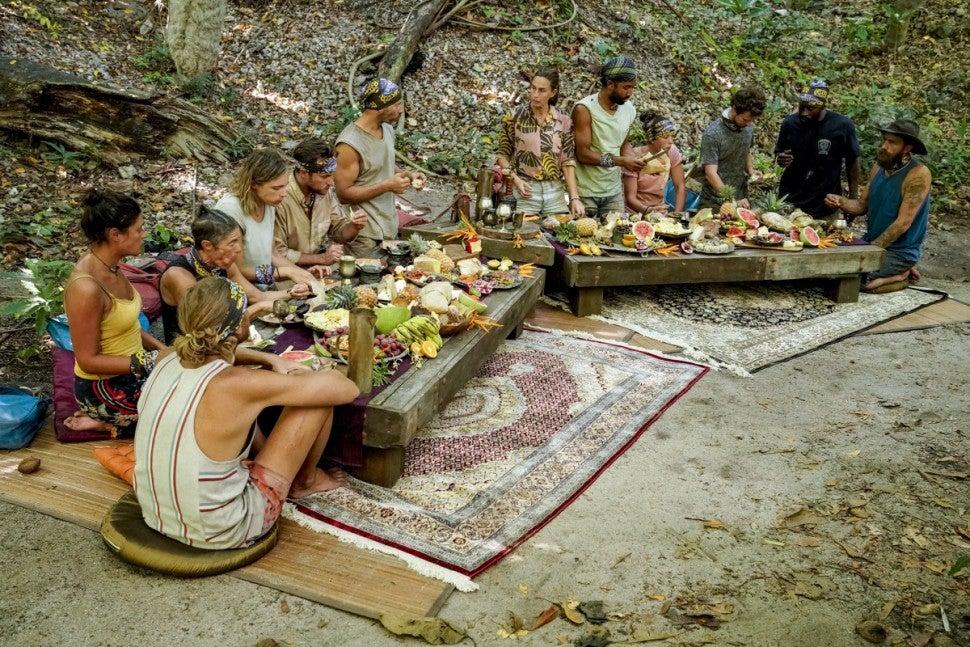 Survivor merge feast