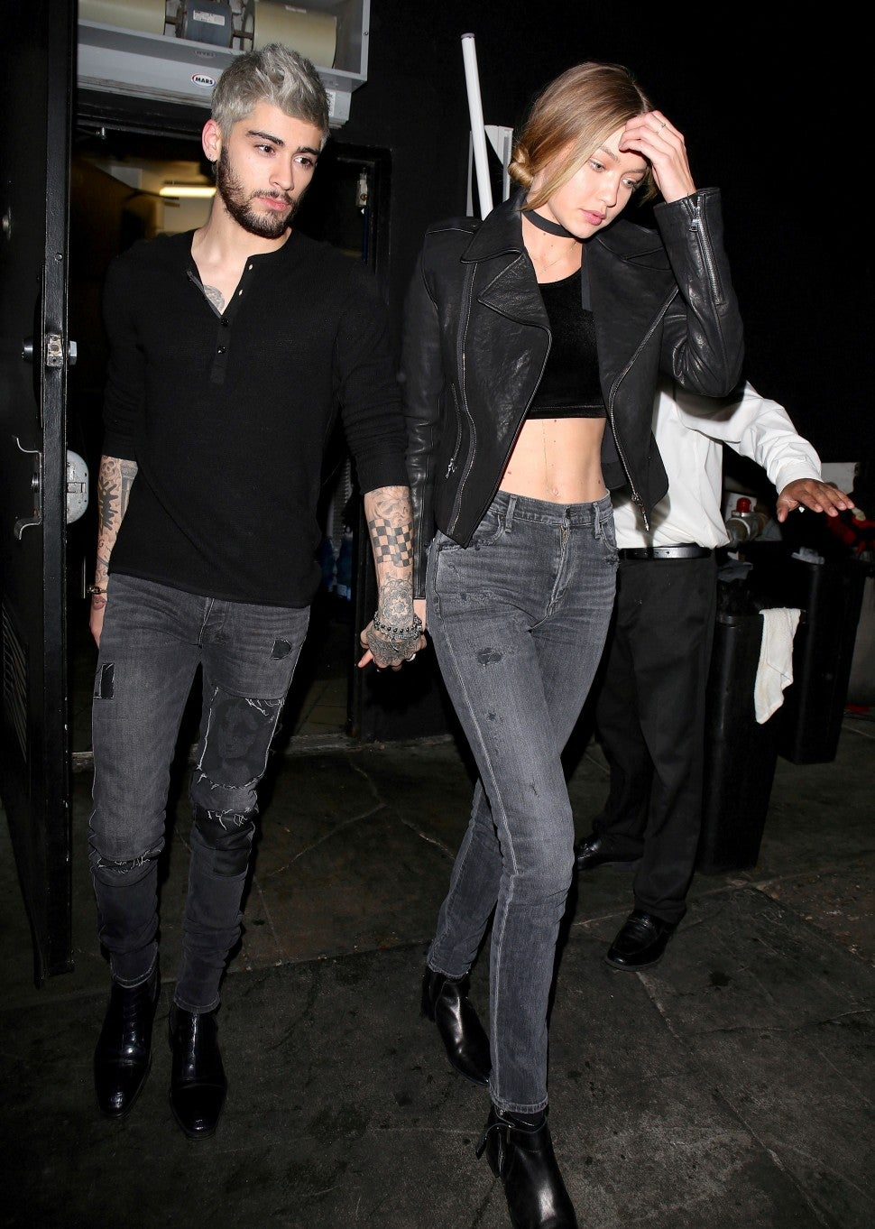 zayn malik and gigi hadid in november 2015