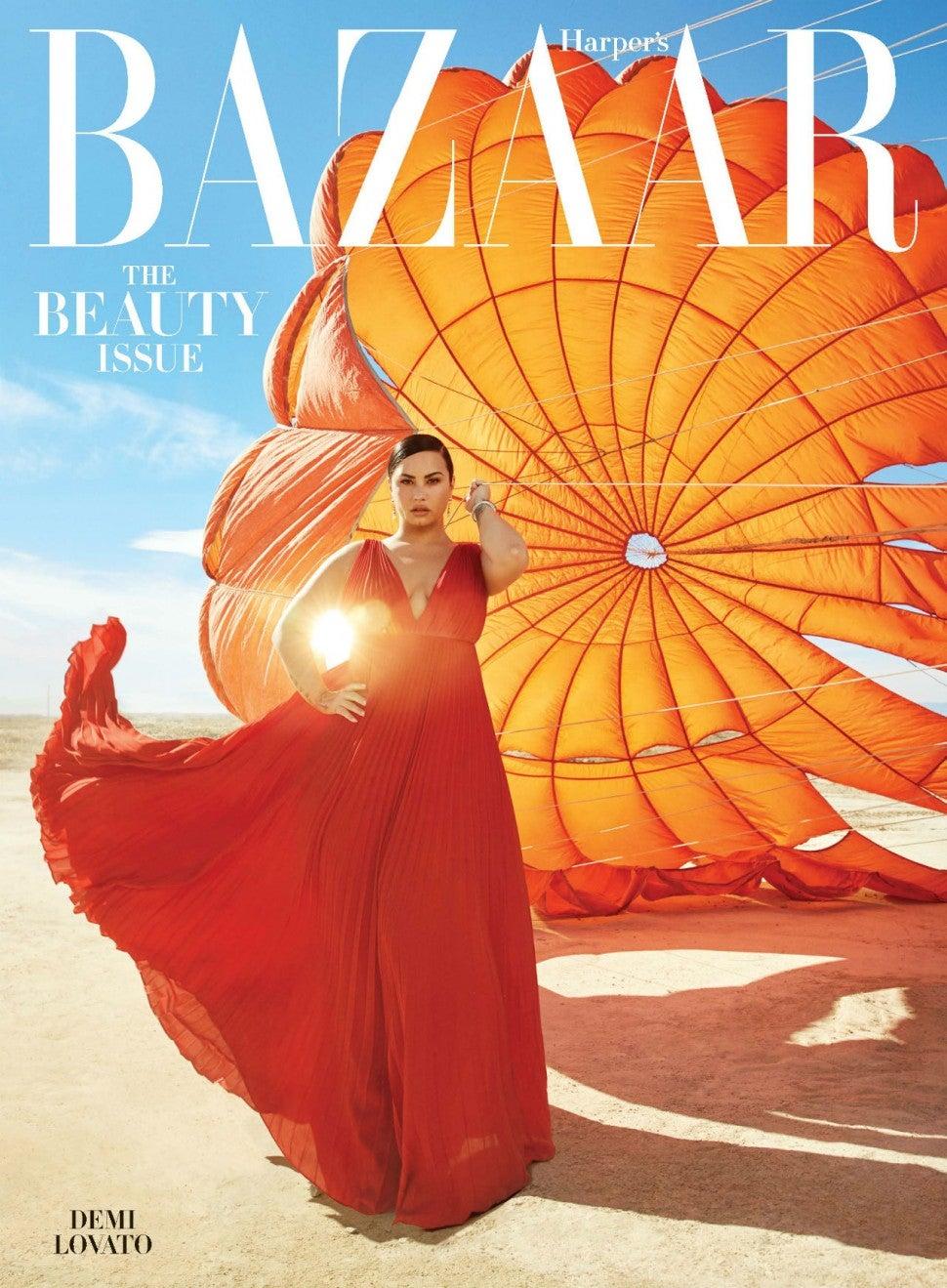 Demi Lovato in 'Harper's Bazaar'