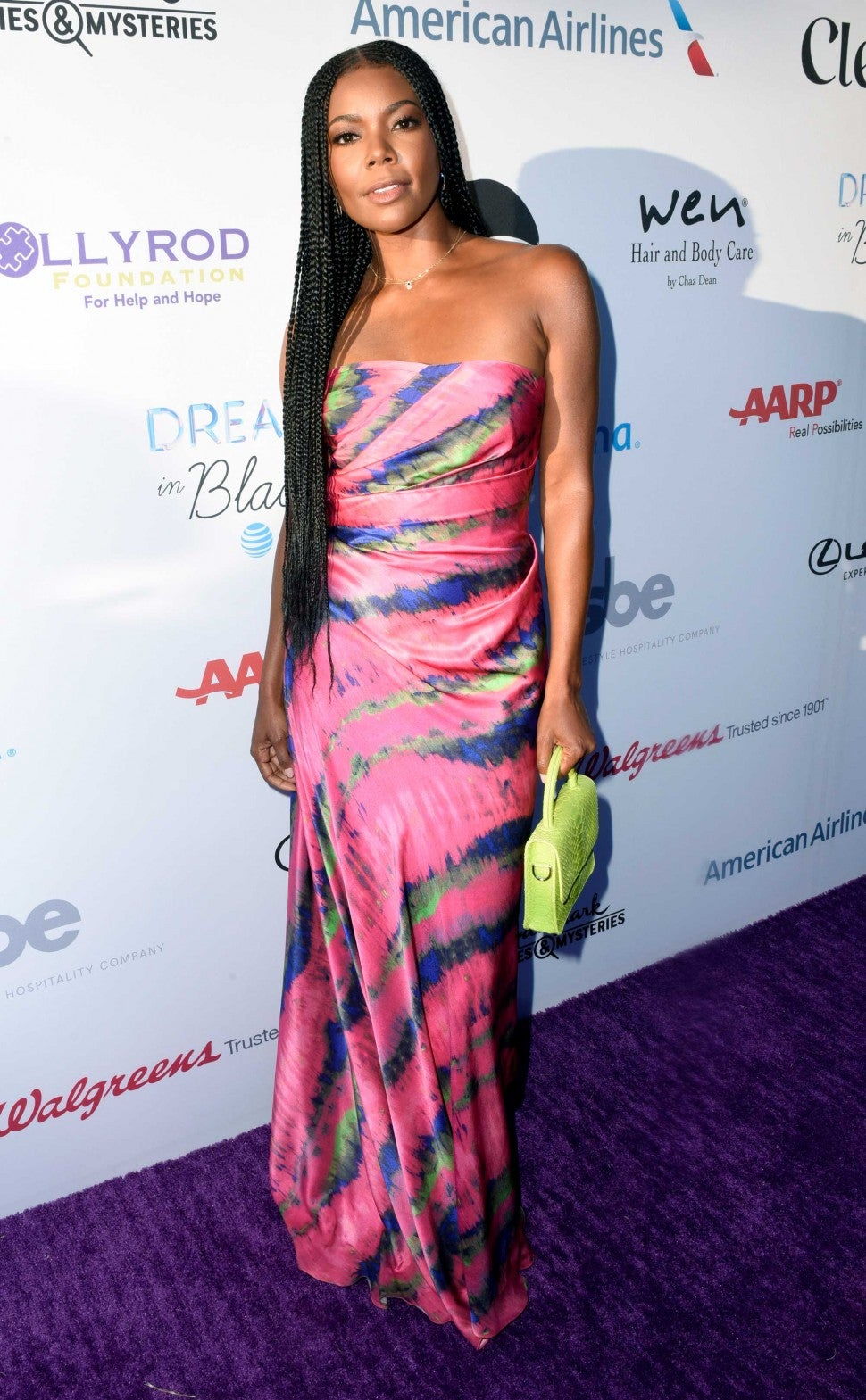 Gabrielle Union at HollyRod Foundation's 21st Annual DesignCare Gala