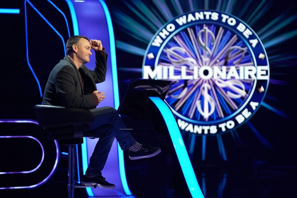 will forte on Who Wants To Be A Millionaire