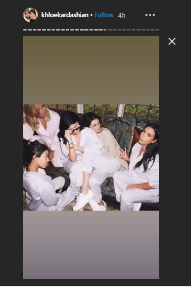 Khloe Kardashian Siblings Day Instagram