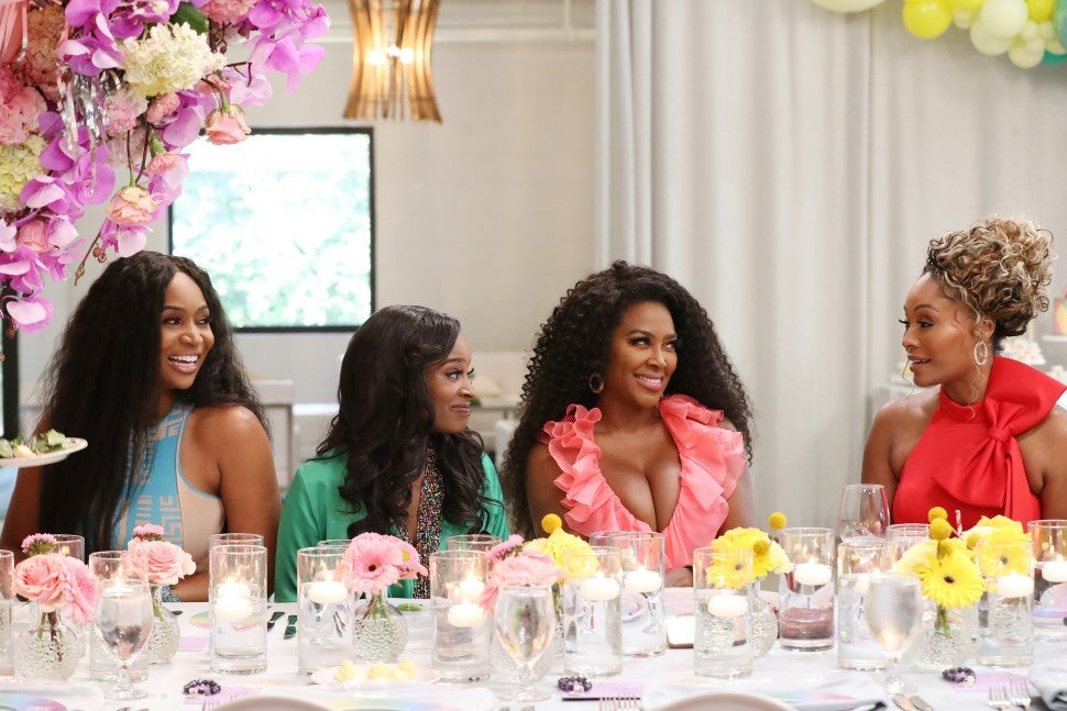 Marlo Hampton and the women of 'The Real Housewives of Atlanta.'