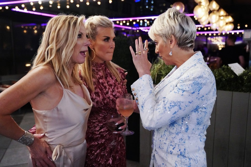Ramona Singer, Tinsley Mortimer and Dorinda Medley of 'The Real Housewives of New York City.'