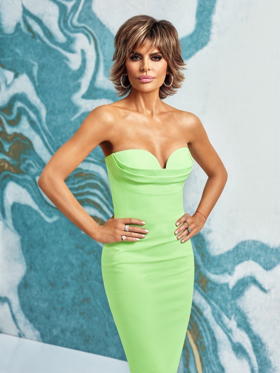 Lisa Rinna of Bravo's 'The Real Housewives of Beverly Hills.'