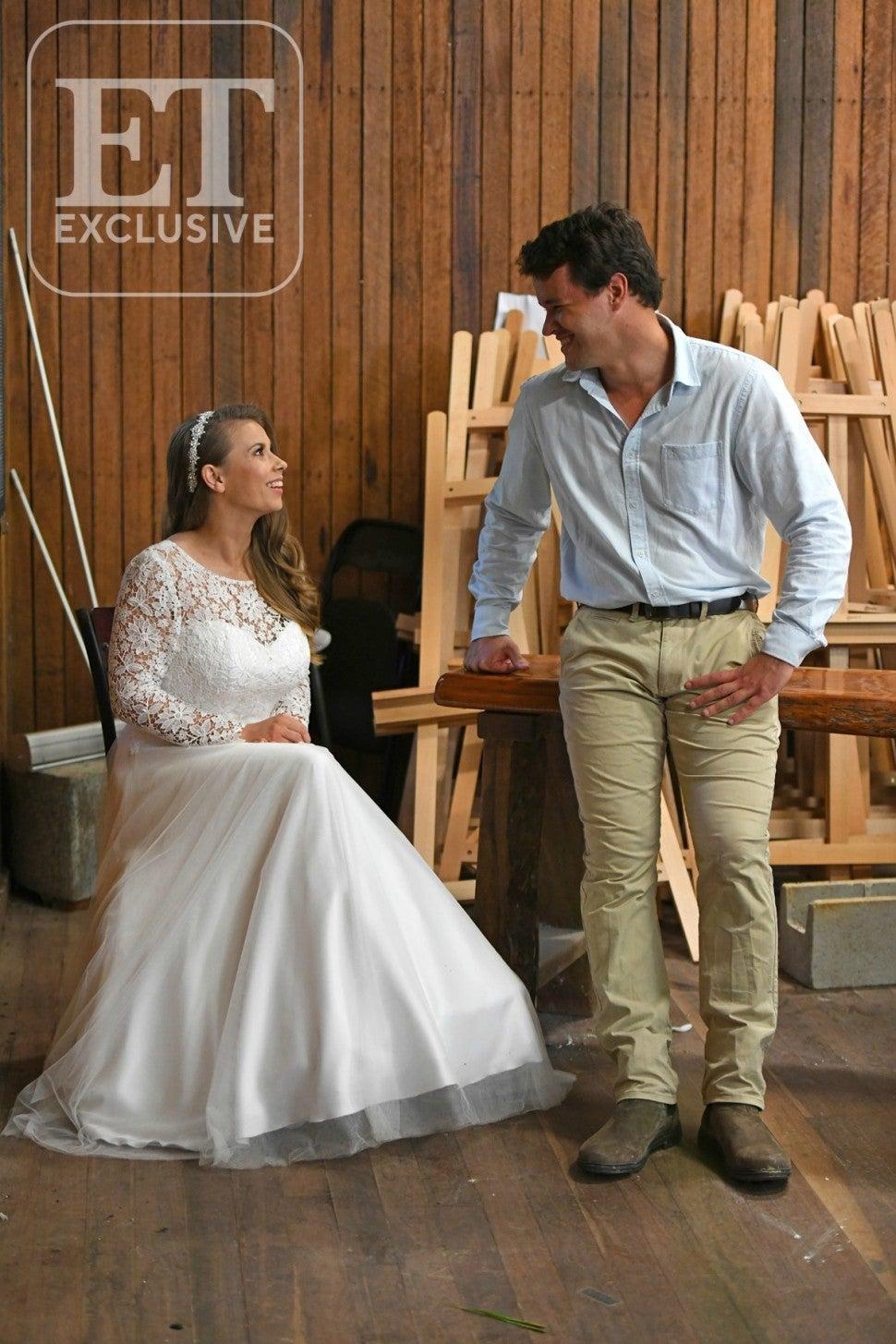 Bindi Irwin and Chandler Powell Wedding Photo