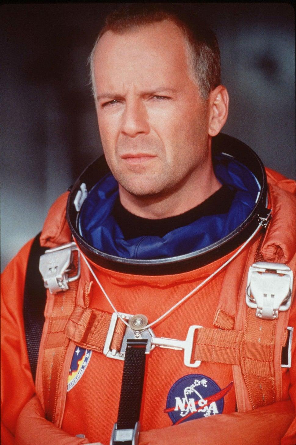 Bruce Willis in 'Armageddon'