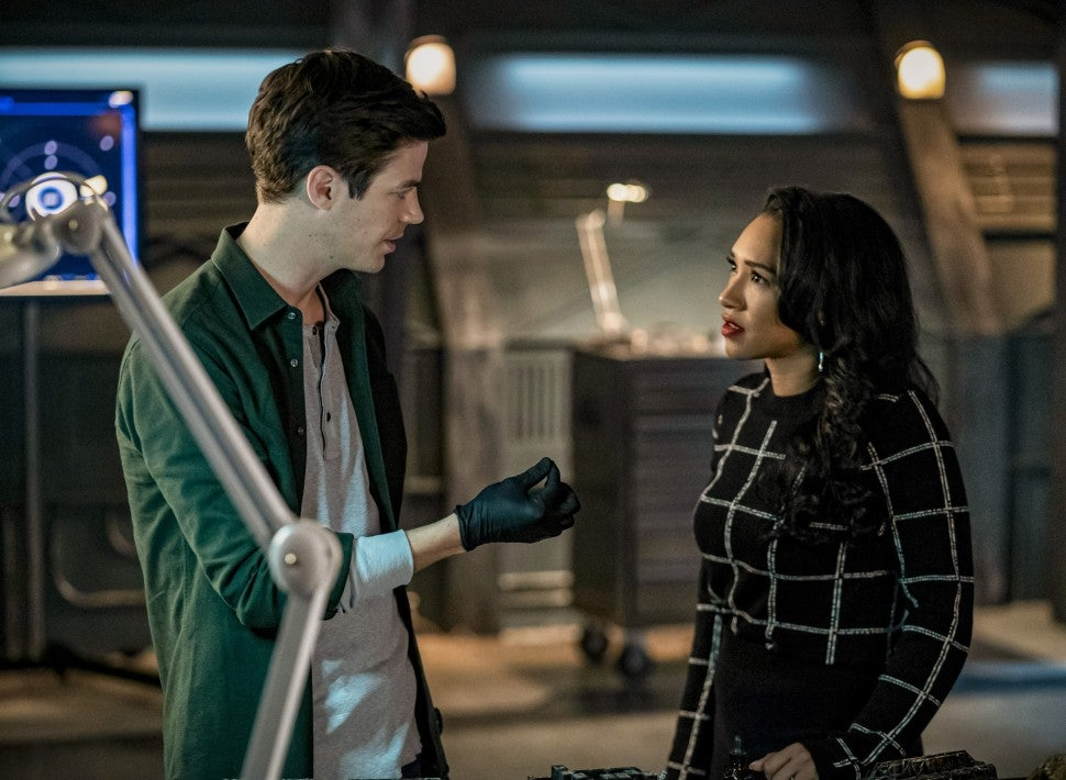 The Flash Barry and Iris
