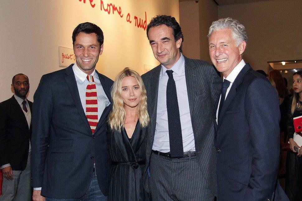 Mary Kate Olsen Oliver Sarkozy 2013