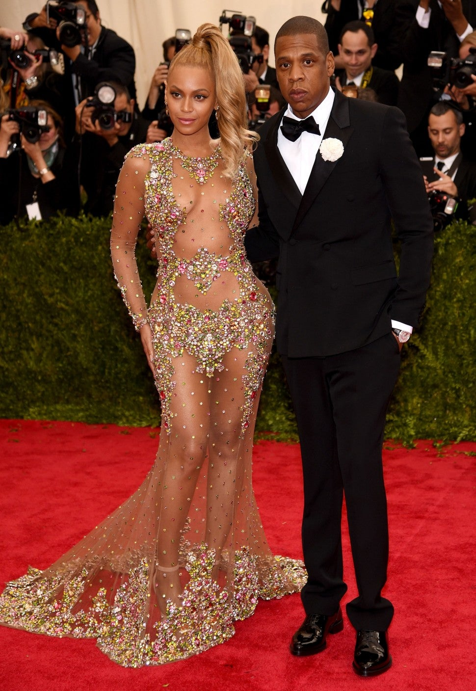 Beyonce and Jay Z at the