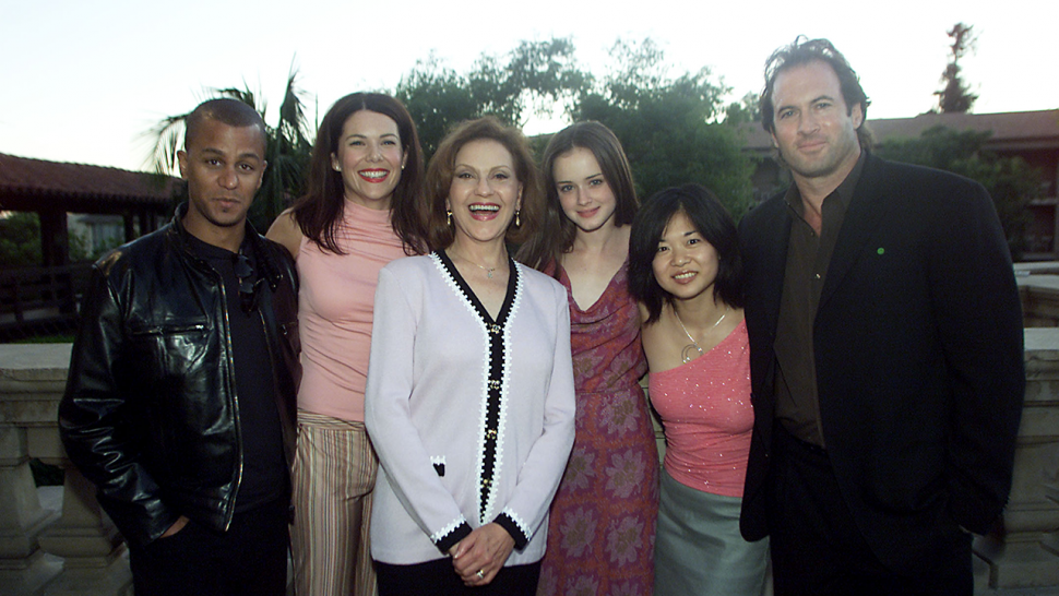 Gilmore Girls cast in 2001
