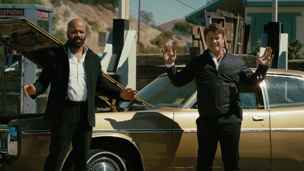Jeffrey Wright Luke Hemsworth Westworld