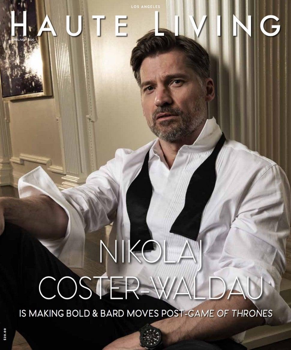 Nikolaj Haute Living Cover