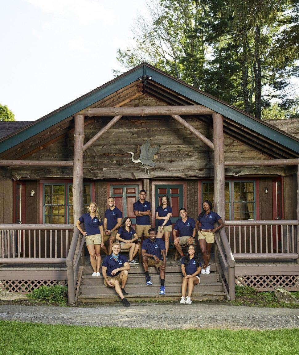 The cast of Bravo's 'Camp Getaway.'