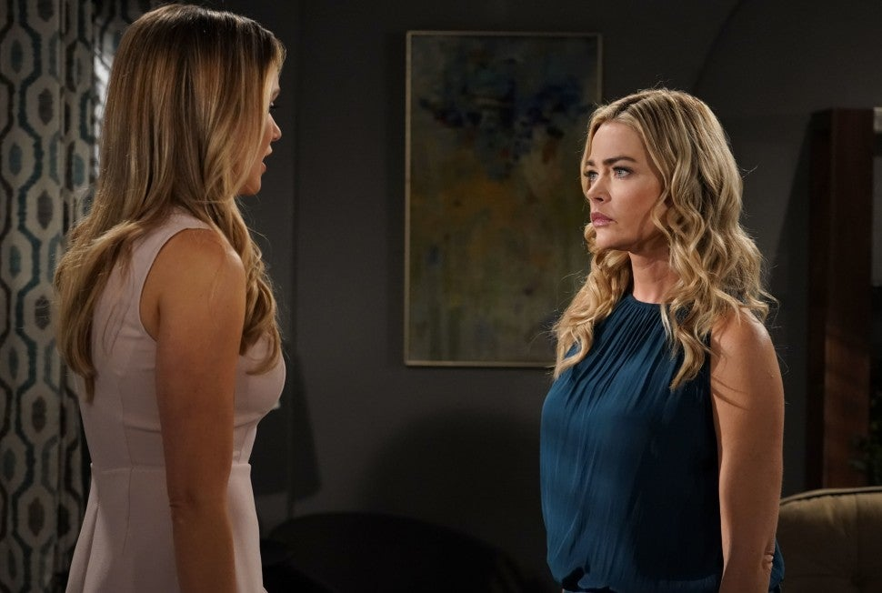 Denise Richards on CBS's 'The Bold and the Beautiful.'