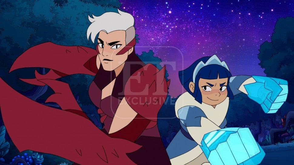 Scorpia and Frosta - she-ra season 5