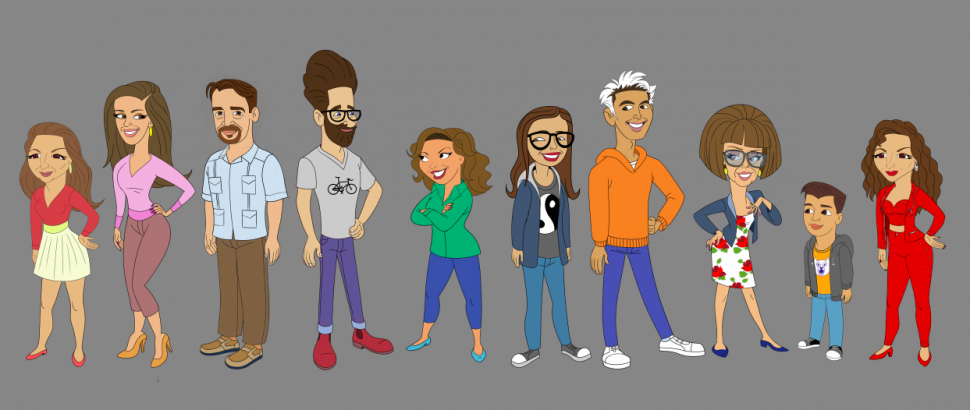 one day at a time animated cast