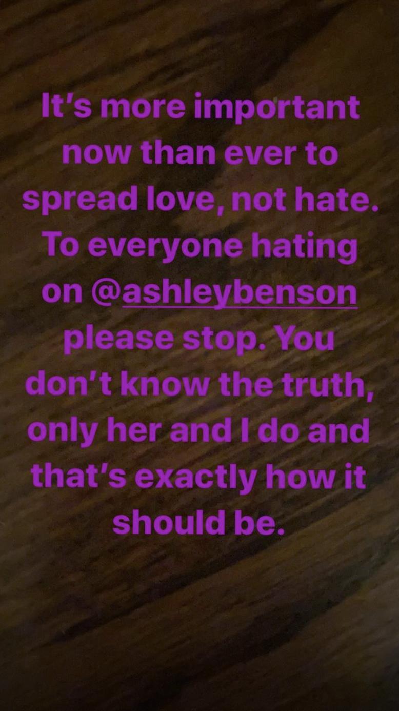 Cara Delevingne defends Ashley Benson
