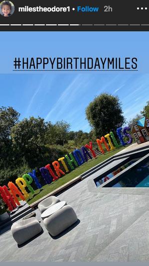Miles Birthday