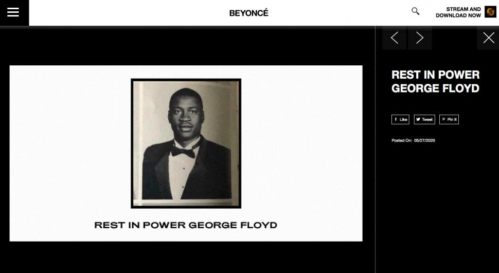 Beyonce Website
