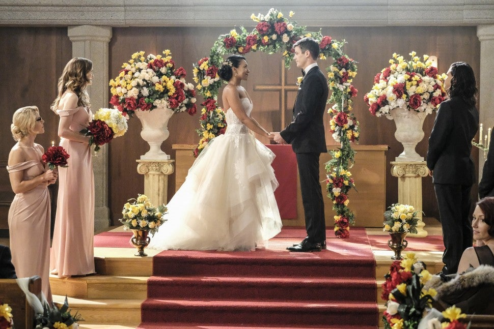 The Flash WestAllen Wedding