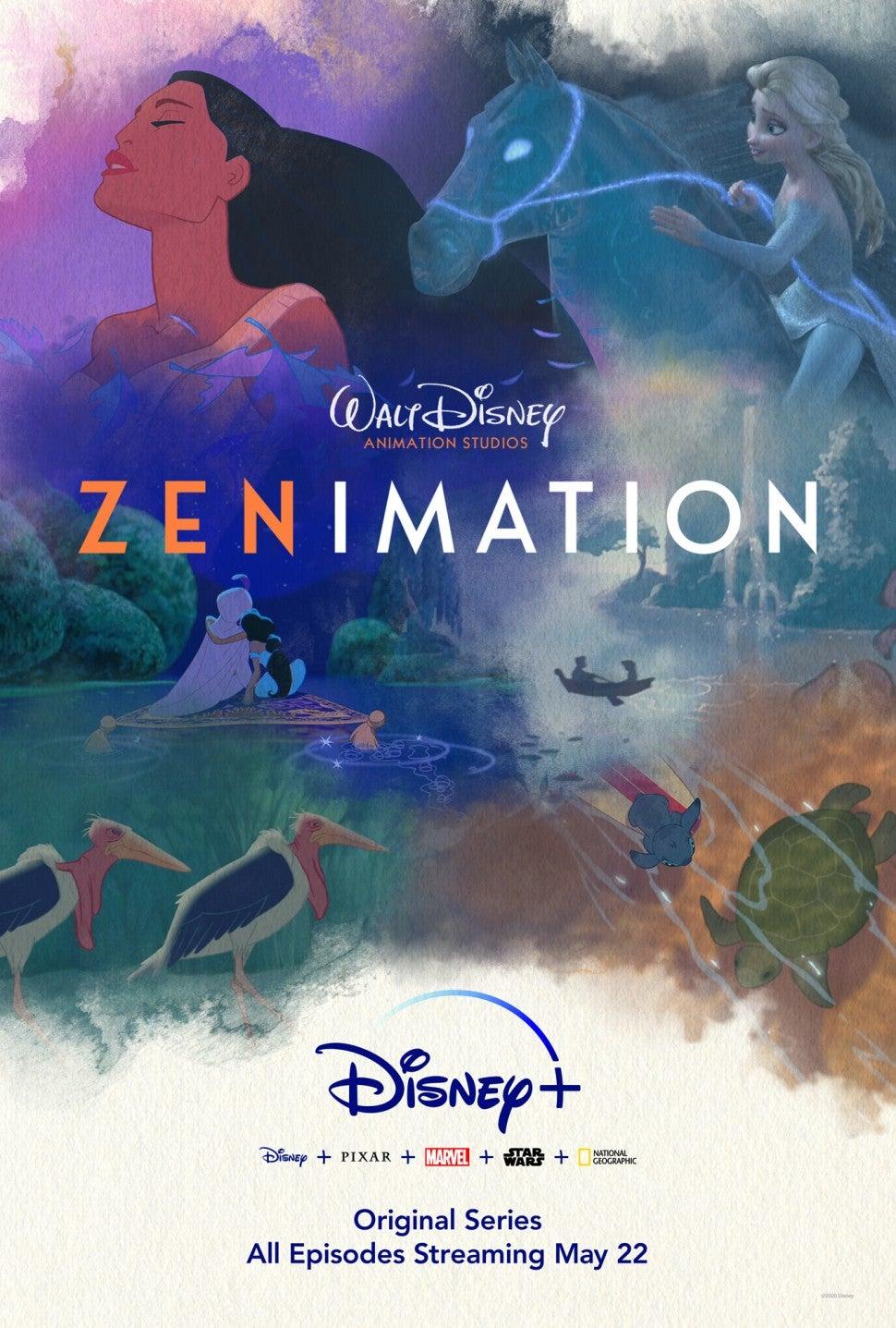 Zenimation, Disney Plus