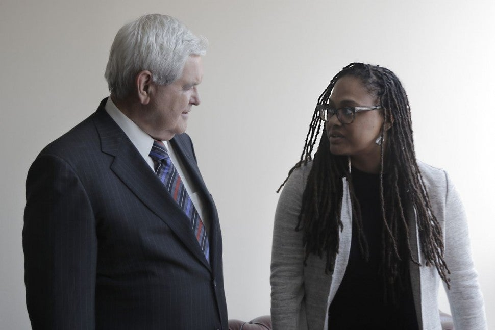 ava duvernay 13th newt gingrich