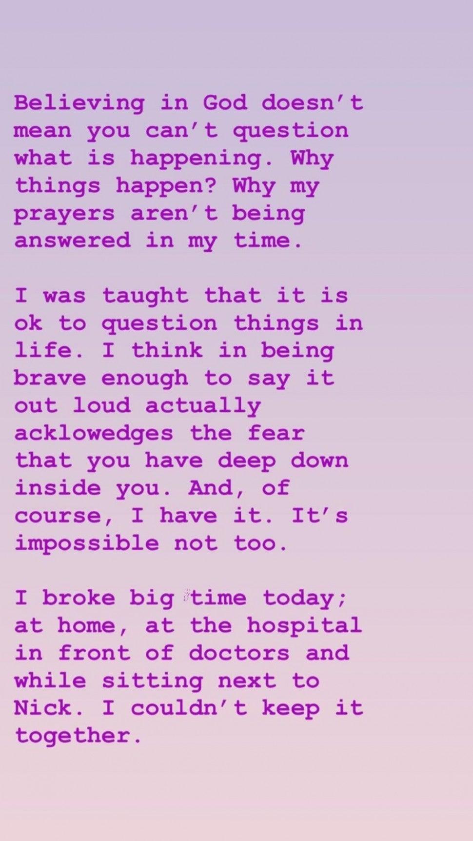 Amanda Kloots Instagram Story