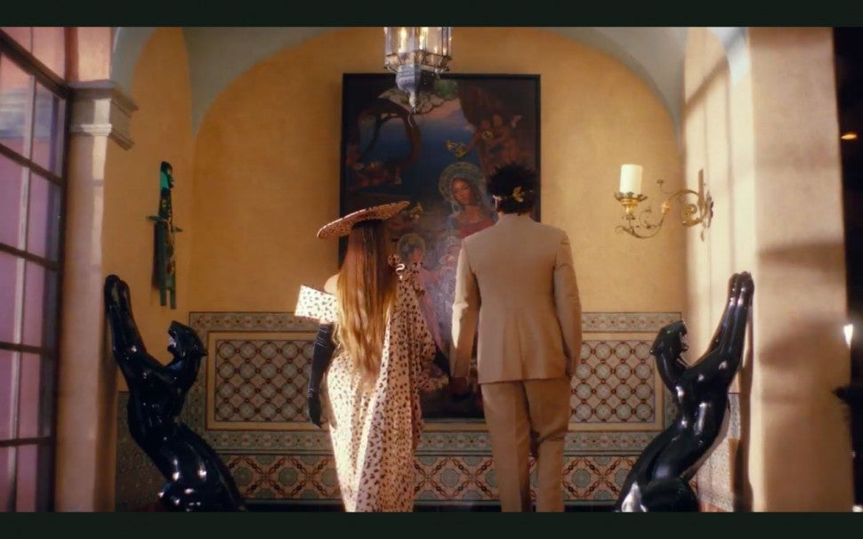 Beyonce and JAY-Z in 'Black Is King'