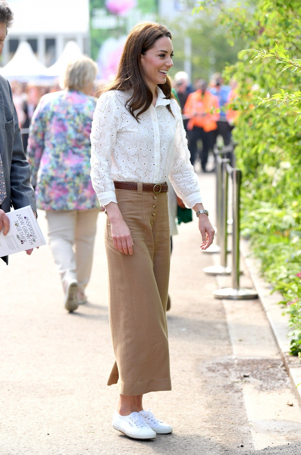 Kate Middleton Superga sneakers