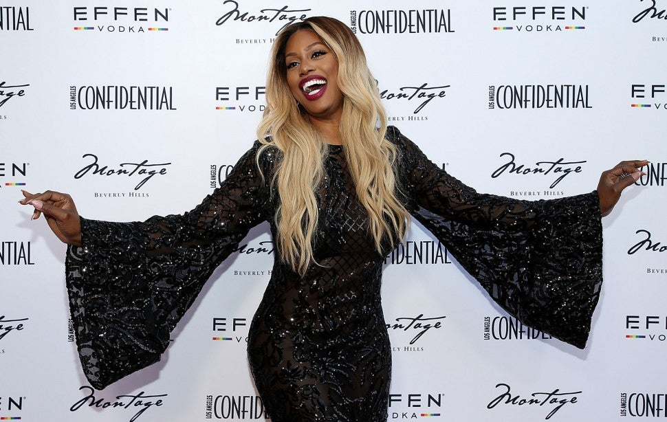 Laverne Cox at the Los Angeles Confidential Celebration 2018