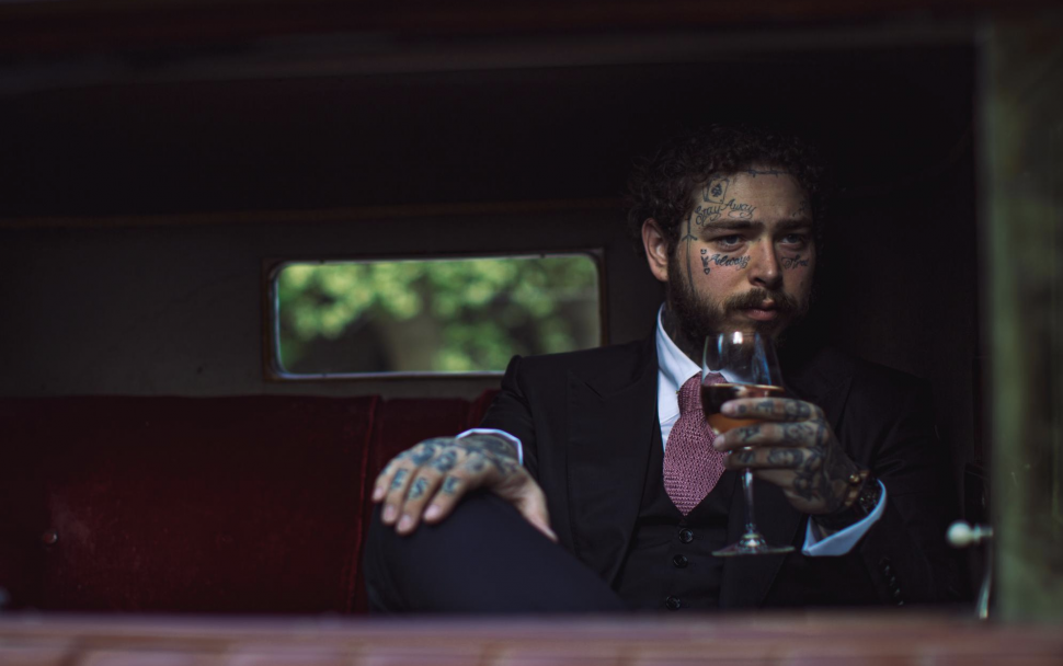 post malone and his wine