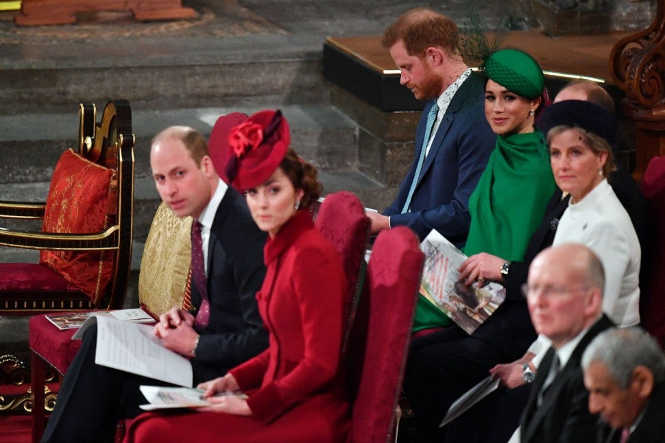 Royals on Commonwealth Day