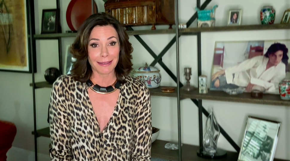 Luann de Lesseps in a self-shot confessional for 'The Real Housewives of New York City.'
