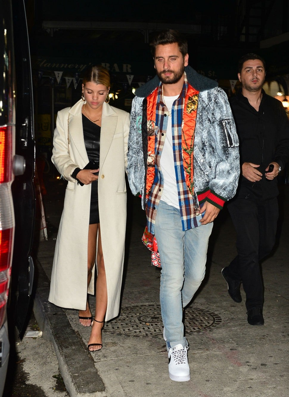 Sofia Richie and Scott Disick in 2017