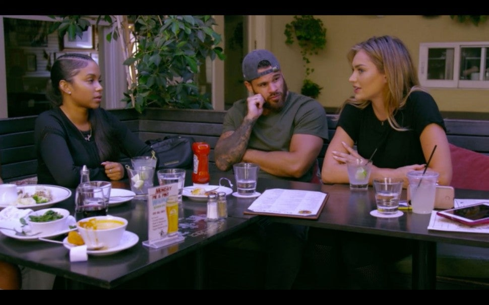 Cheyenne Floyd, Cory Warton and Taylor Selfridge on 'Teen Mom OG.'