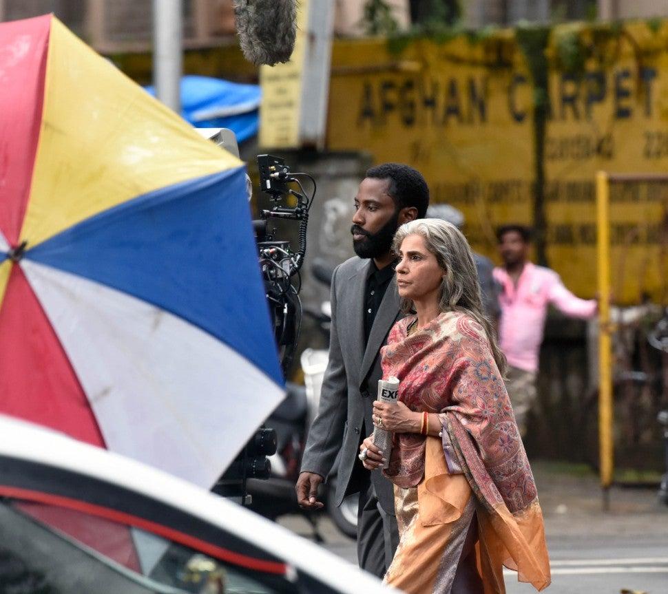 'Tenet' filming in India.